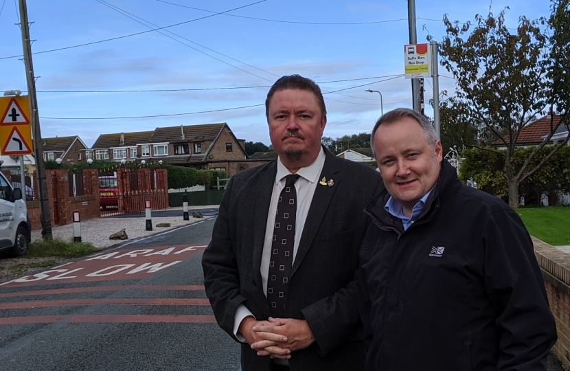 Council agrees to improve safety on dangerous Towyn Road