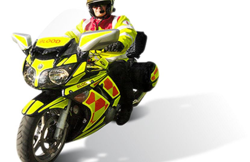 MS praises Blood Bikes Wales volunteers for their support amid Covid-19 pandemic